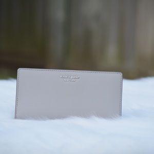 Kate Spade bifold wallet Grey